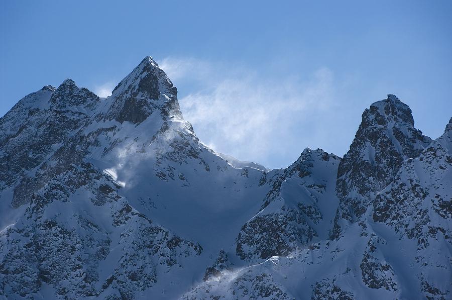 Snowdrift Formation Photograph