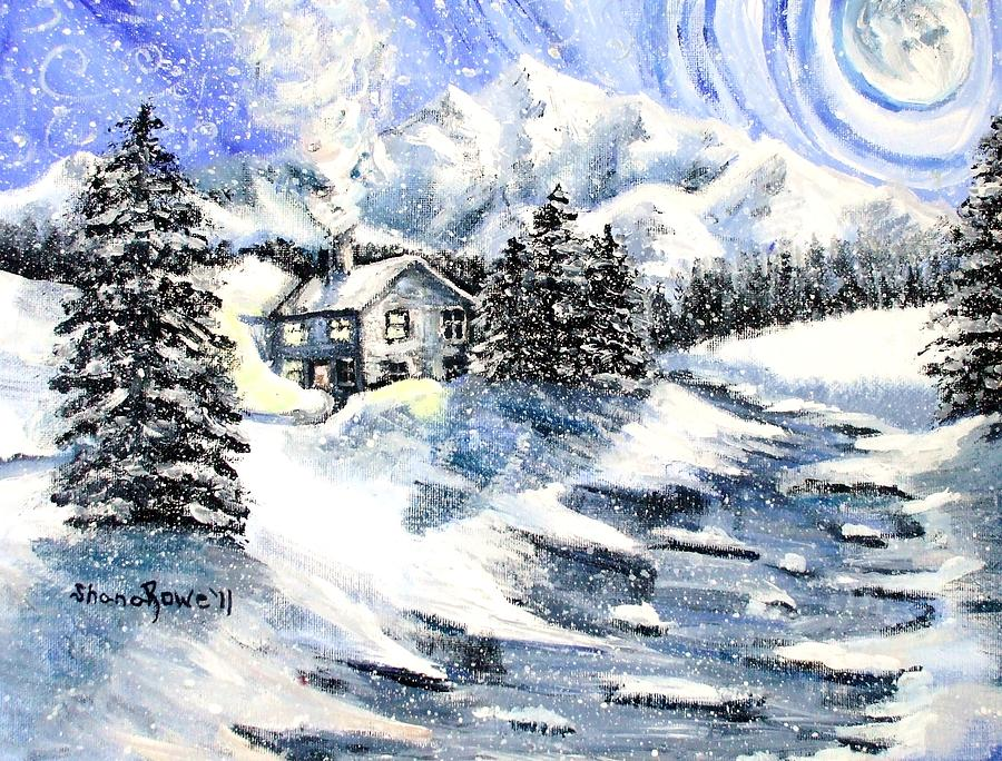 Snowed In Painting  - Snowed In Fine Art Print