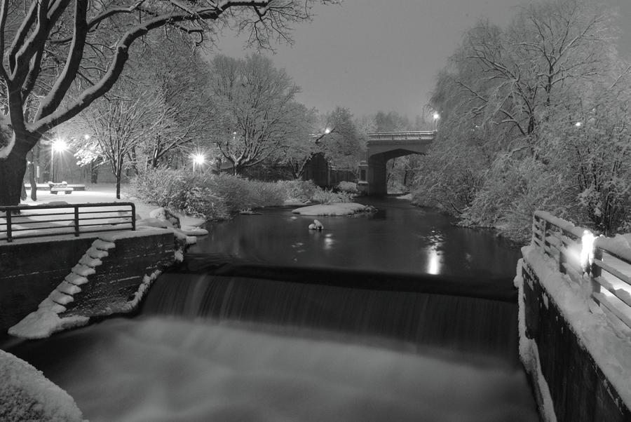 Snowy Bear River Photograph