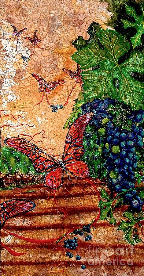 So Long And Thanks For All The Grapes Painting  - So Long And Thanks For All The Grapes Fine Art Print