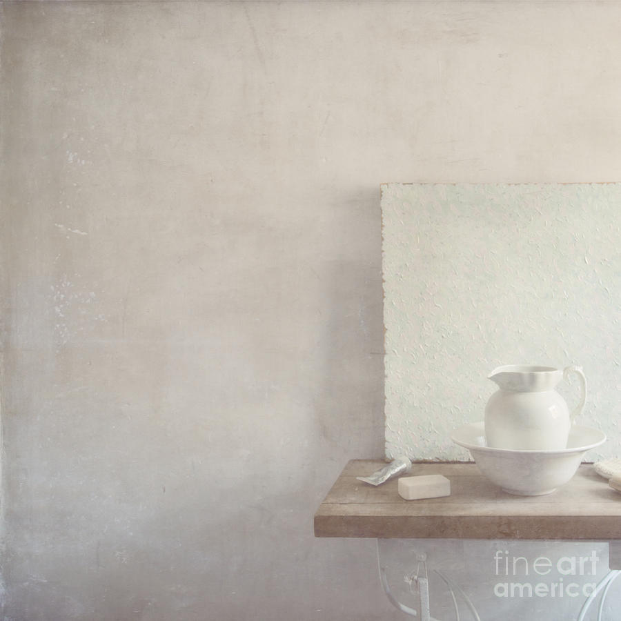 Soap And Jug Photograph  - Soap And Jug Fine Art Print