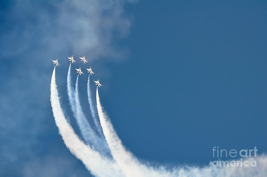 Air Show Photograph - Soaring by Athena Lin