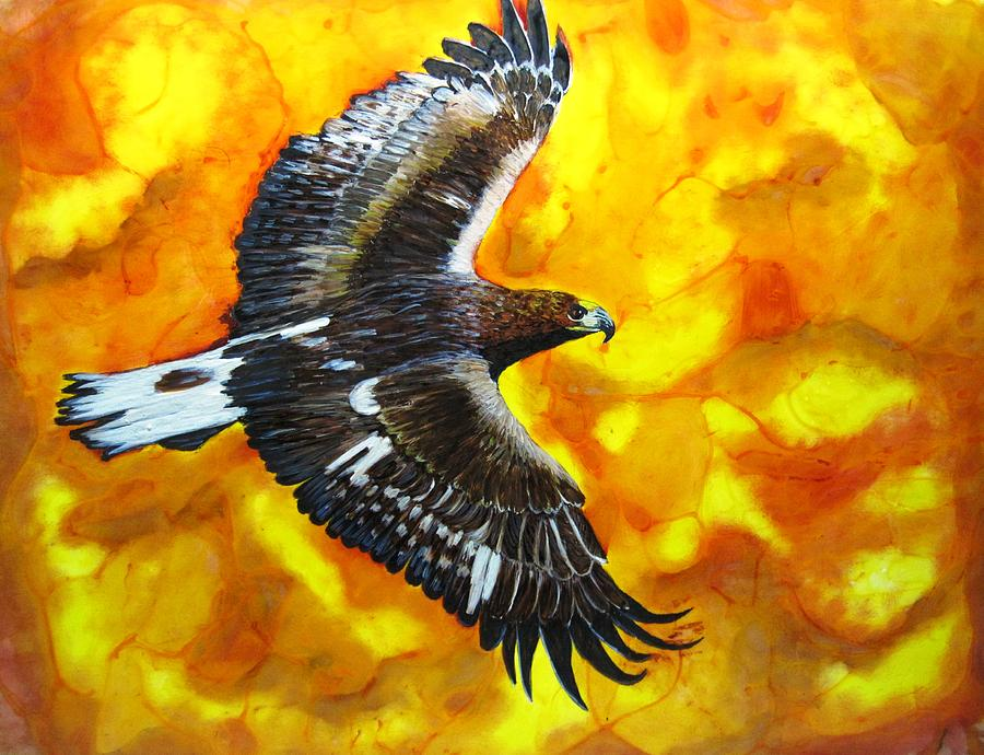 Soaring Sunrise Painting