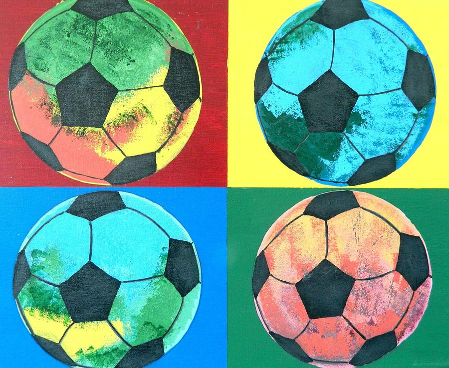 Soccer Balls By Ken Pursley