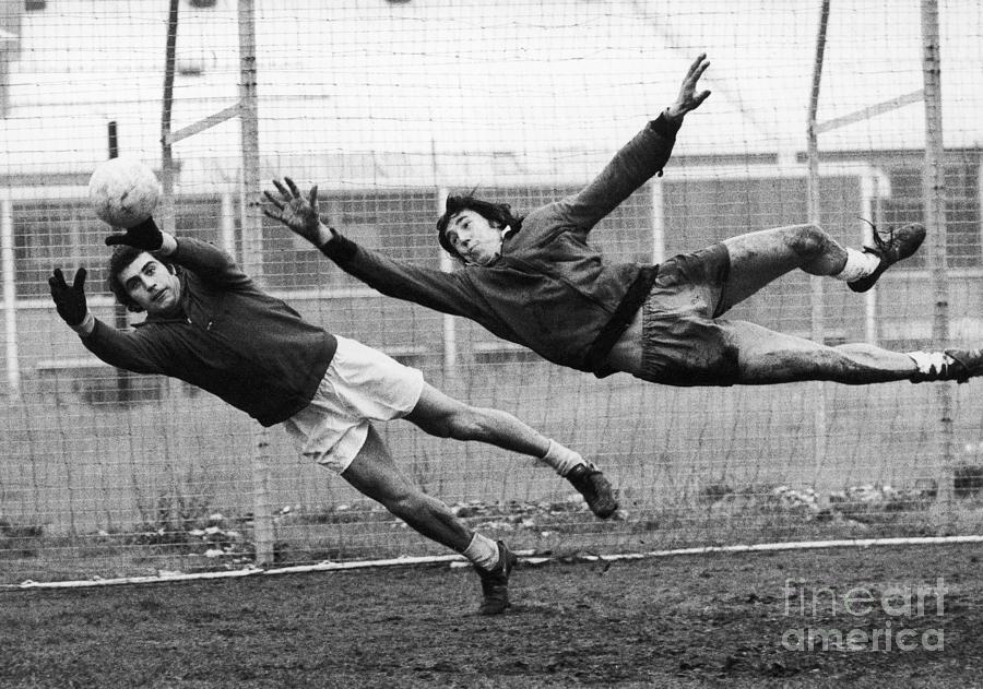 Soccer Goalies, 1974 Photograph