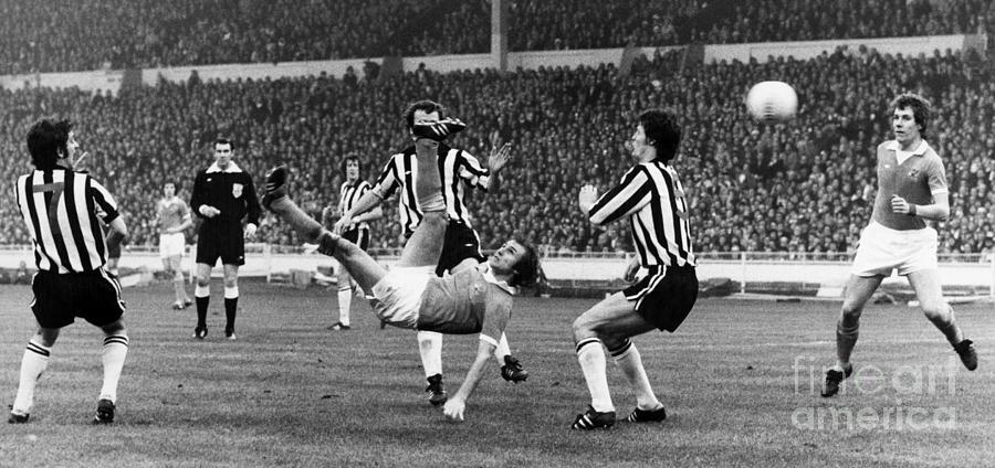 Soccer Match, 1976 Photograph