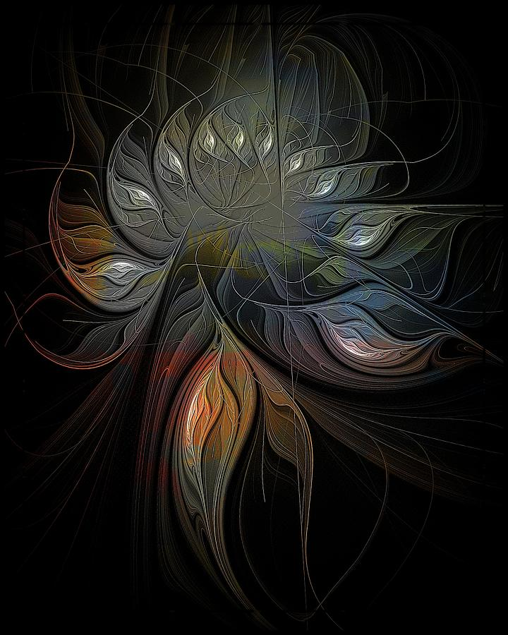 Soft Metals Digital Art  - Soft Metals Fine Art Print