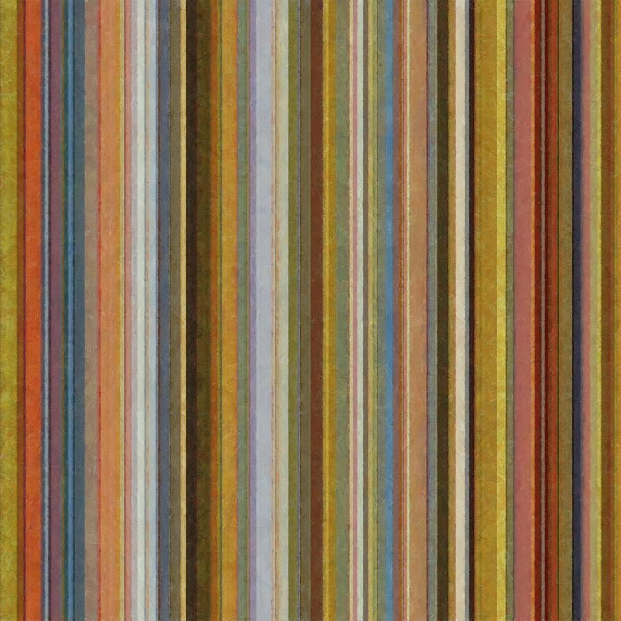 Soft Stripes Ll Digital Art