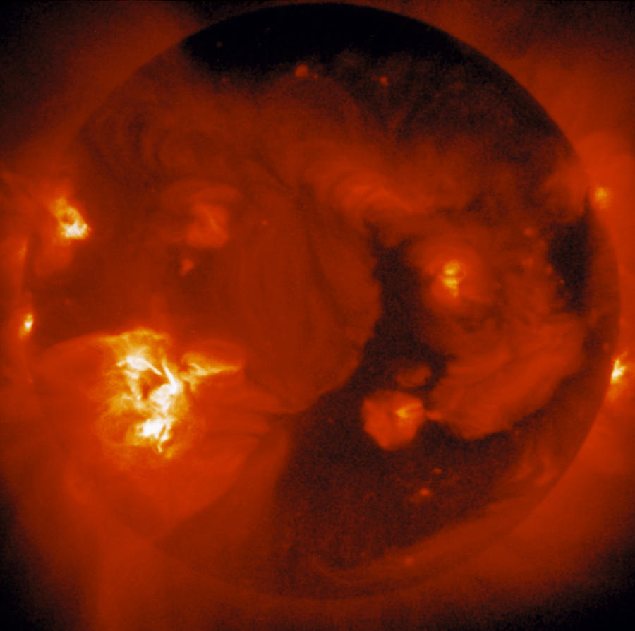 Soft X-ray Image Of Sun Photograph