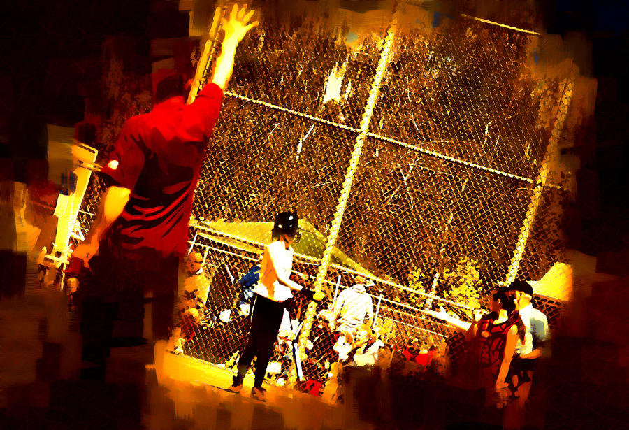 Softball Game Photograph  - Softball Game Fine Art Print