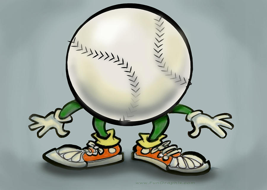 Softball Greeting Card  - Softball Fine Art Print