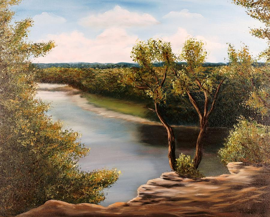 Solado Creek Painting  - Solado Creek Fine Art Print