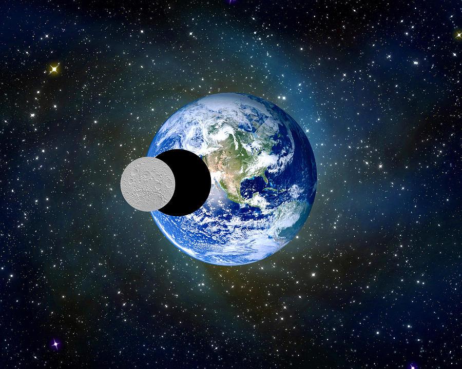 Solar Eclipse A Photograph