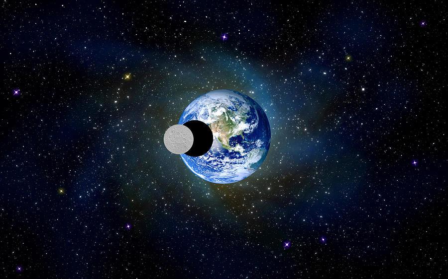 Aliens Photograph - Solar Eclipse by Bruce Iorio