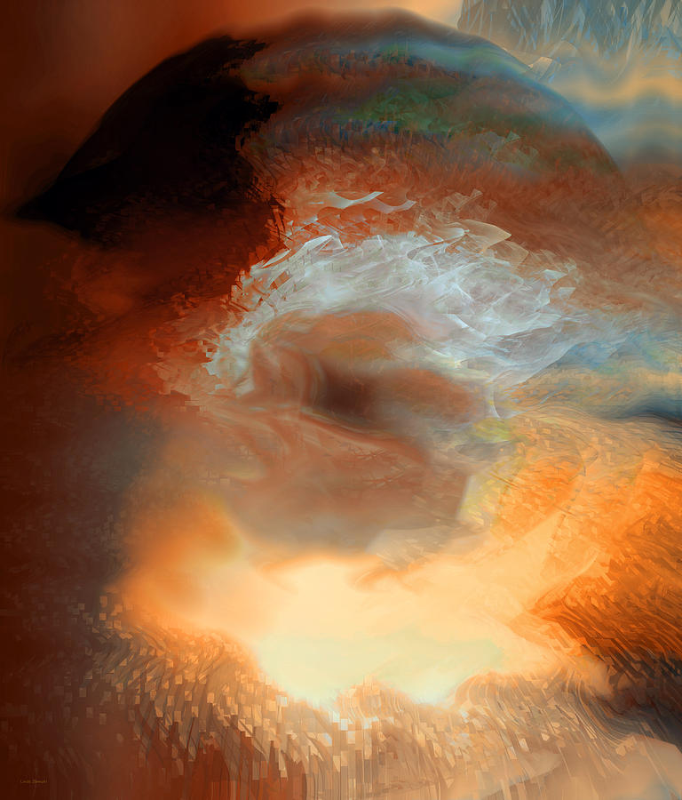 Solar Eruption Digital Art