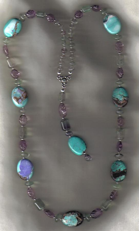 Sold Painted Pony And Crystal Feathers Jewelry