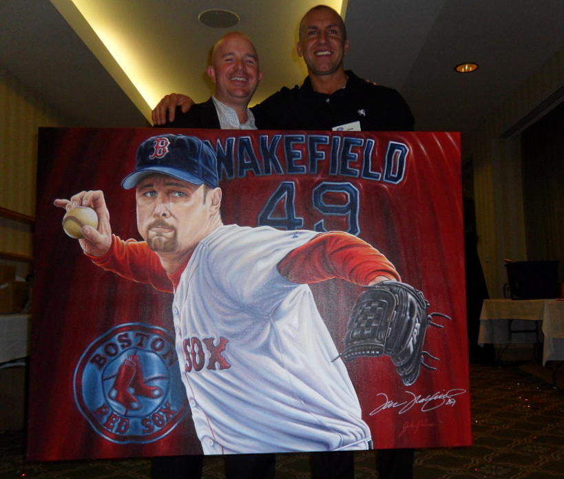 Sold Signed Tim Wakefield Original Painting Painting