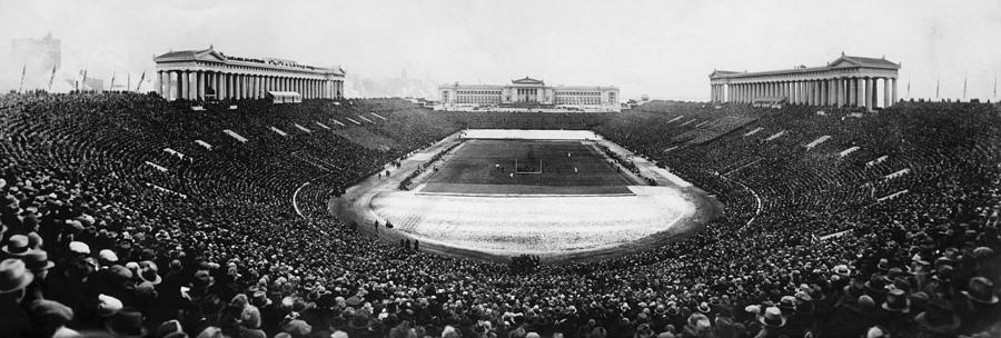 Soldier Field, Chicago, Illinois, Circa Photograph