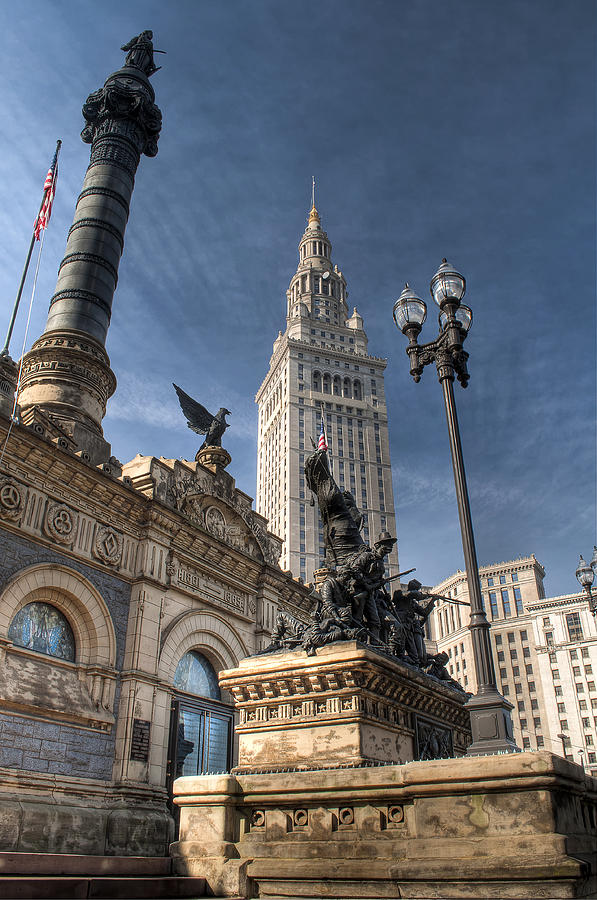 Soldiers And Sailors Monument Photograph