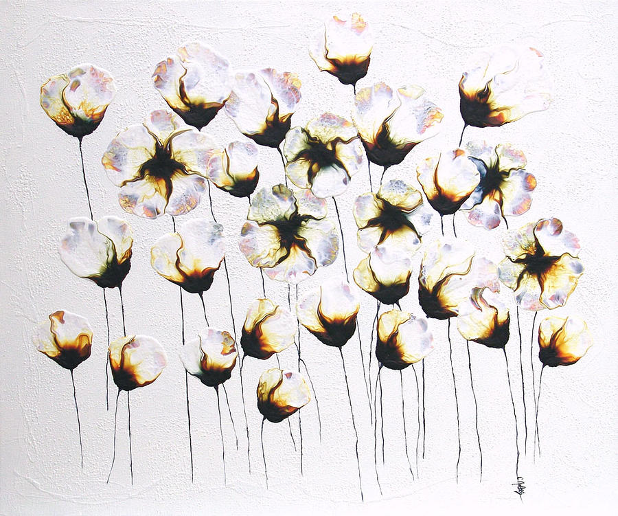 Soliloquy -floral Flower Nature Painting Painting