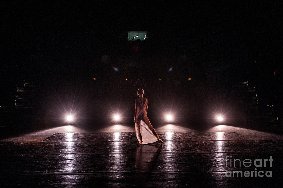 Solo Dance Performance Photograph  - Solo Dance Performance Fine Art Print