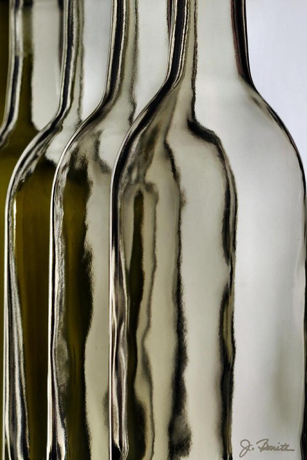 Somber Bottles Photograph