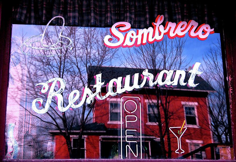 Sombrero Restaurant Photograph