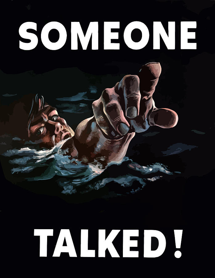 Someone Talked Painting  - Someone Talked Fine Art Print
