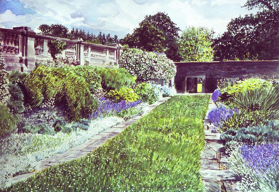 Somerset Garden Painting