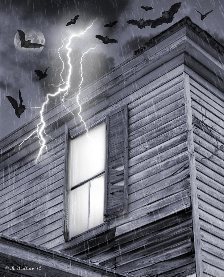 2d Photograph - Something Wicked by Brian Wallace