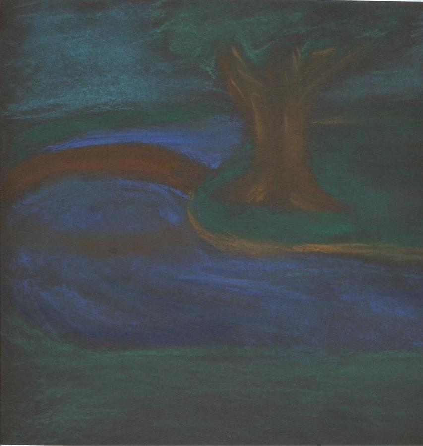 Somewhere At Night Pastel