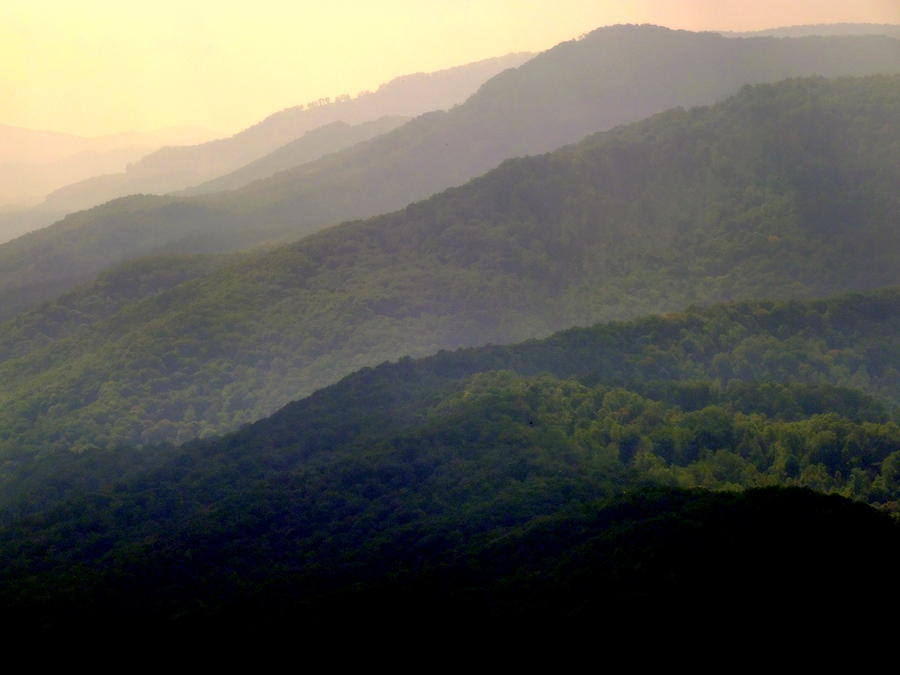Mountains Photograph - Song Of The Hills by Karen Wiles