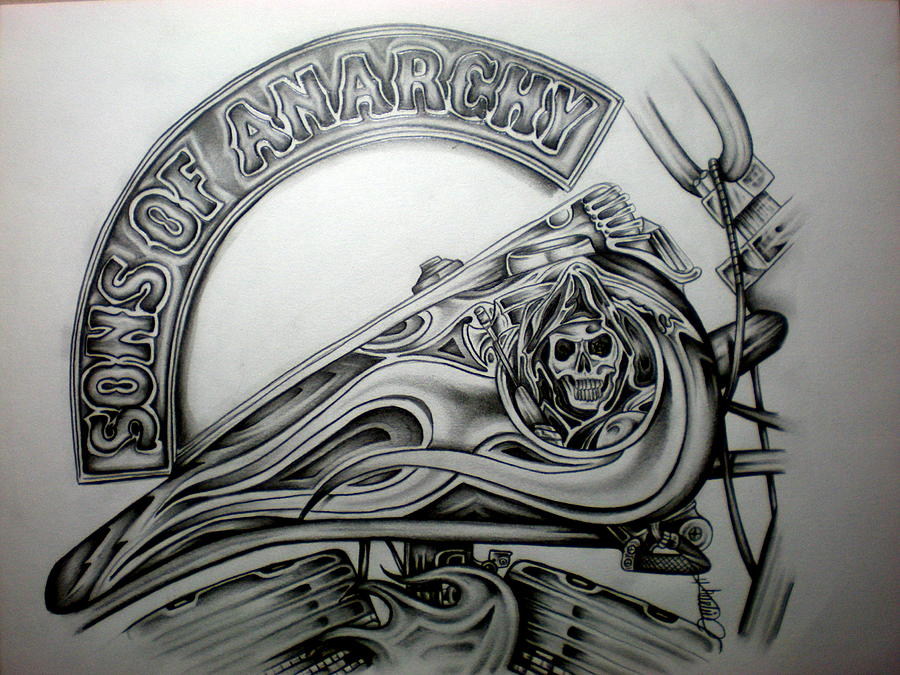 Sons of Anarchy Reaper Drawings