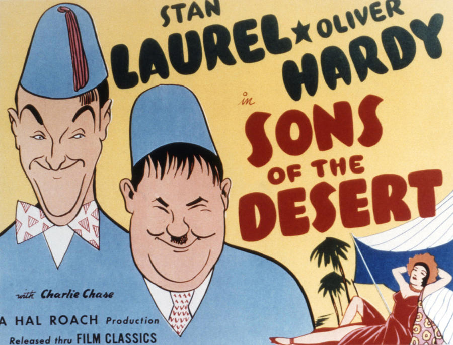 Sons Of The Desert, Stan Laurel, Oliver Photograph  - Sons Of The Desert, Stan Laurel, Oliver Fine Art Print