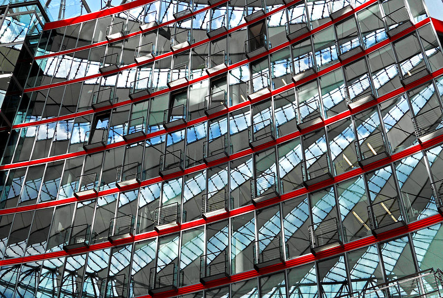 Sony Center - Berlin Photograph