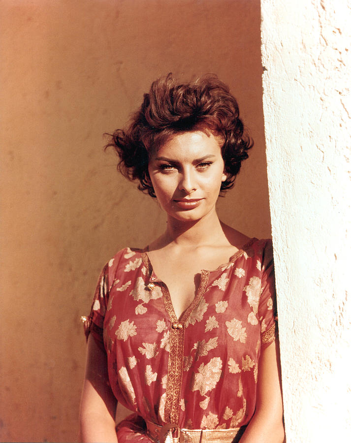 Sophia Loren, Legend Of The Lost, 1957 Photograph