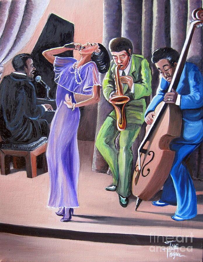 Soul Singer Painting