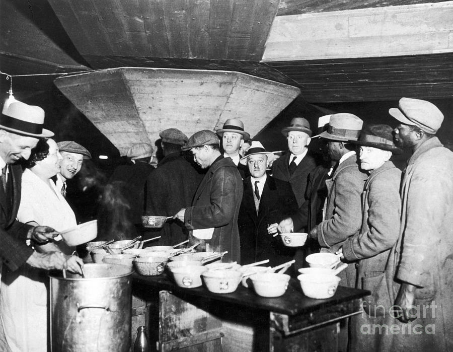 Soup Kitchen, 1931 Photograph