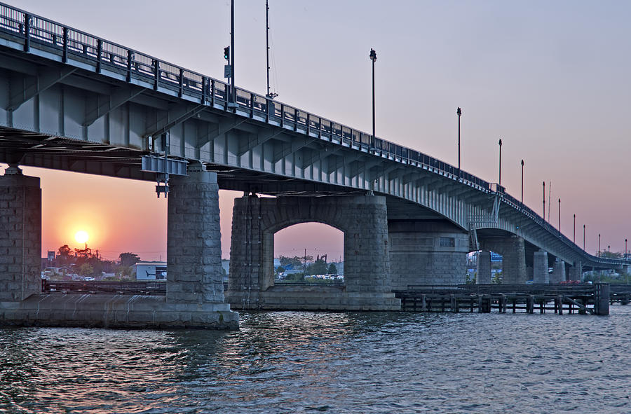 South Capitol Street Bridge Over Anacostia River In Washington Dc Photograph