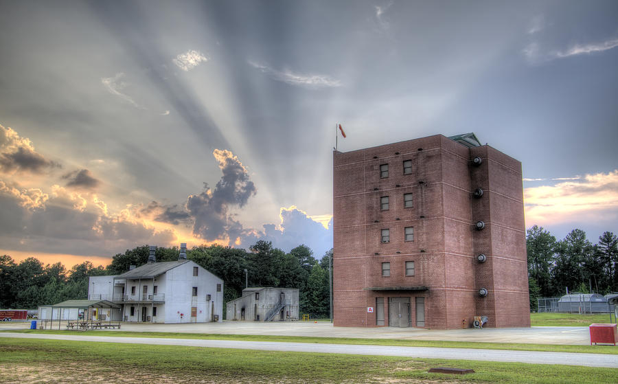 South Carolina Fire Academy Tower Photograph  - South Carolina Fire Academy Tower Fine Art Print