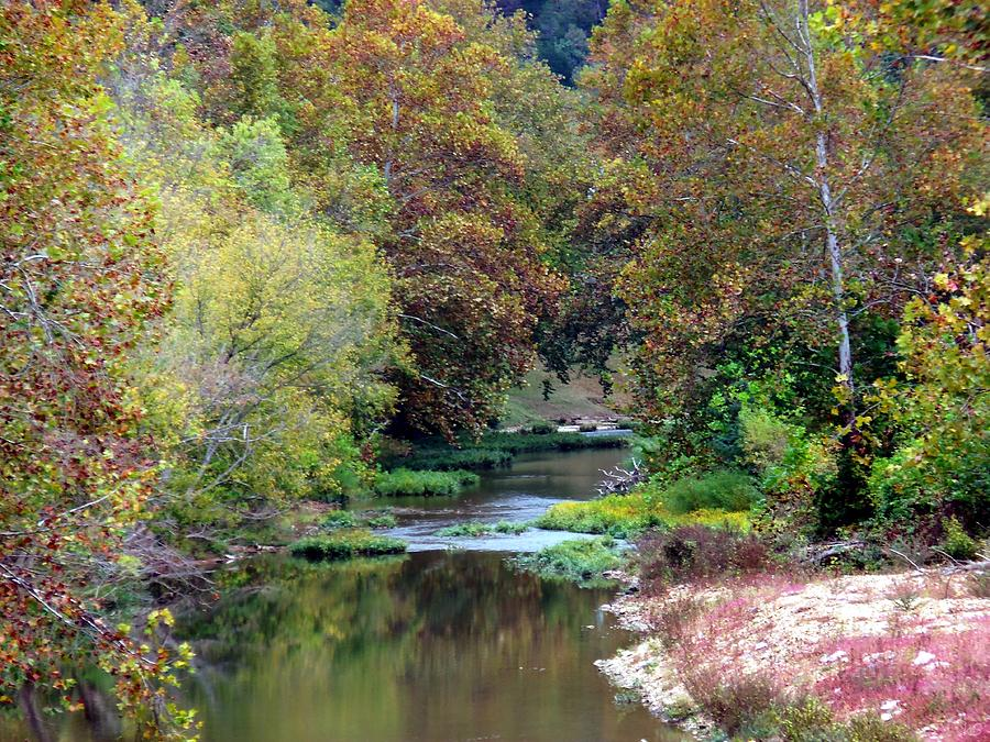 River Photograph - South Harpeth by Kay Sawyer