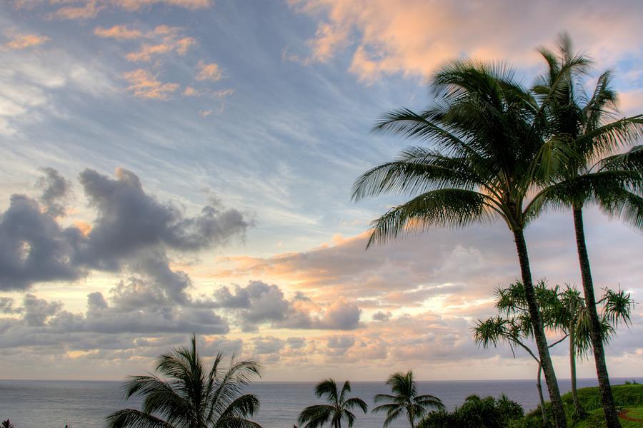 South Seas Sunset Photograph
