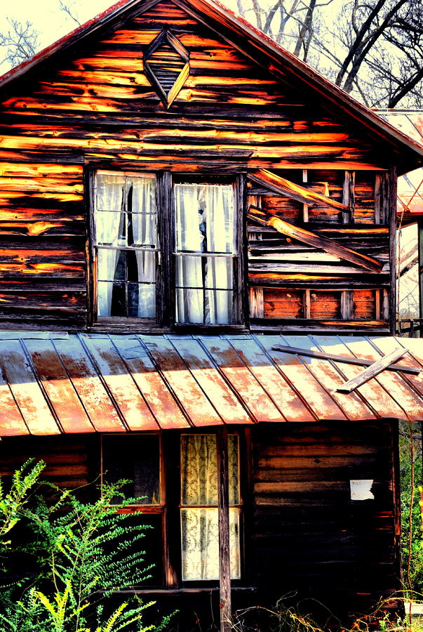 Southern Homestead Photograph  - Southern Homestead Fine Art Print