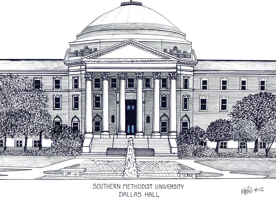 Southern Methodist University Drawing