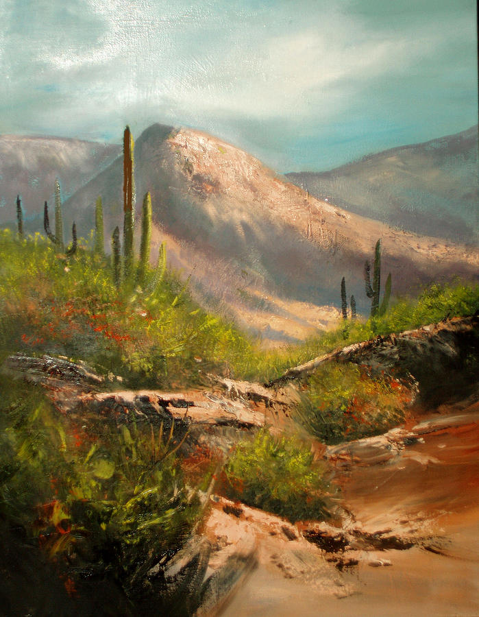 Southwest Beauty Painting  - Southwest Beauty Fine Art Print