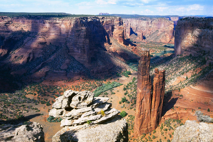 Navajo Tribal Trust Land Photograph - Southwest Canyon  by George Oze