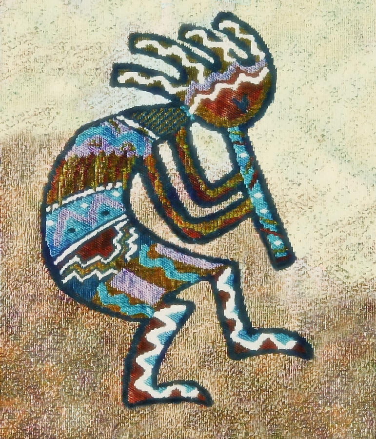 Kokopelli Art - Southwestern  Kokopelli Art