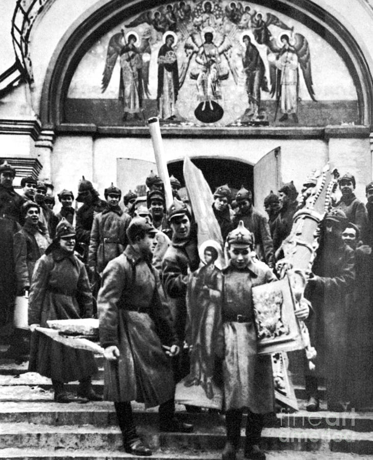 Soviet Anti-religion Policy Photograph