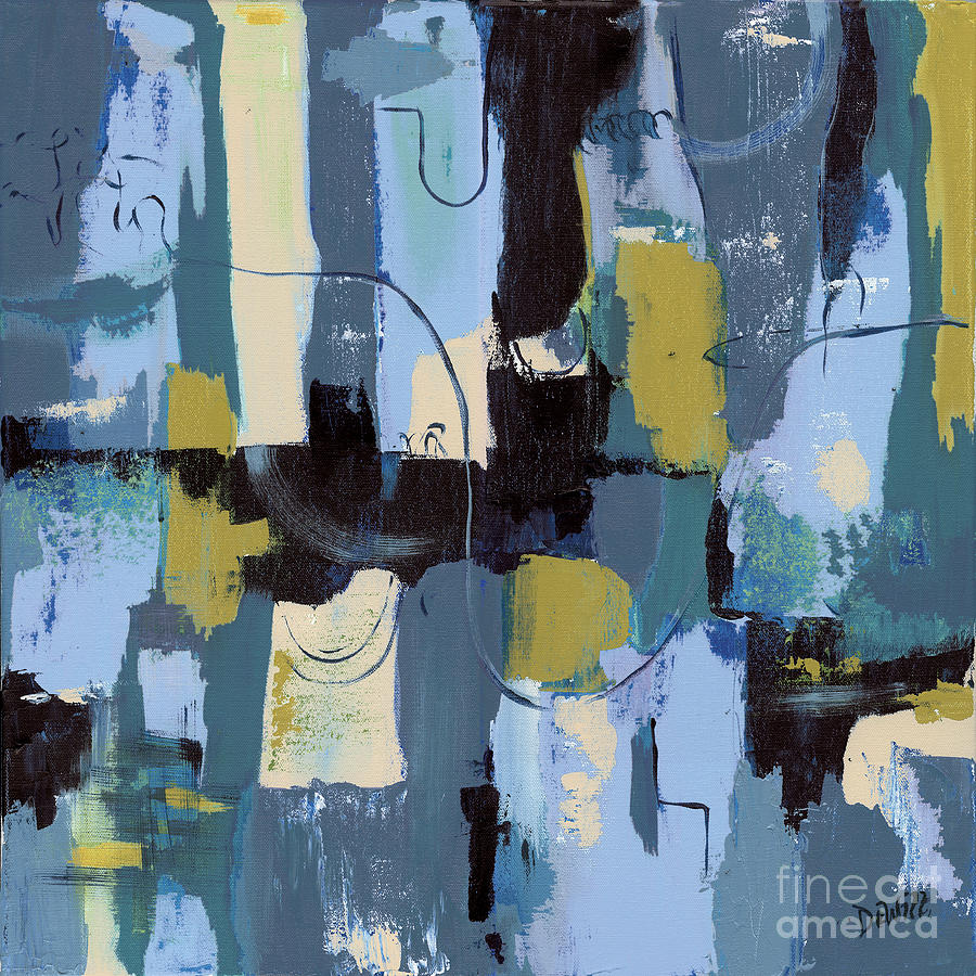 Spa Abstract 2 Painting  - Spa Abstract 2 Fine Art Print