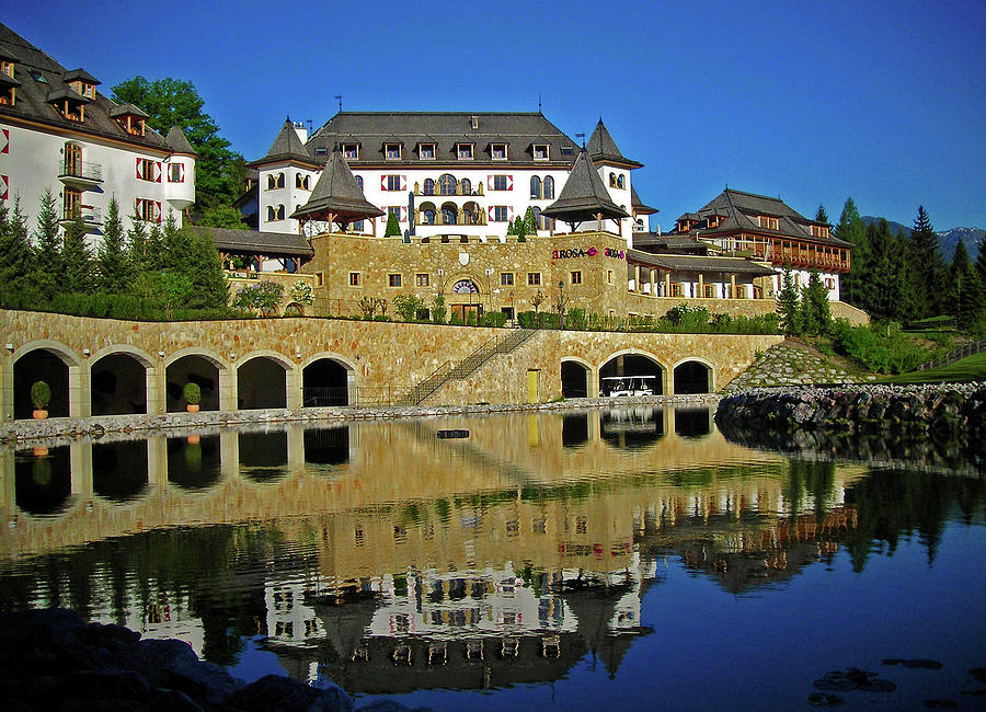 Spa Resort A-rosa - Kitzbuehel Photograph  - Spa Resort A-rosa - Kitzbuehel Fine Art Print